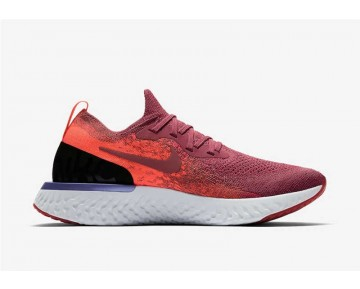 Nike Epic React Flyknit Mujer Rosa/Carmesí Hiper/Barely Rose/Rust Rosa AQ0070-601