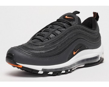 Nike Hombre/Mujer Air Max 97 OG Anthracite/Naranja Total-Negras-Blancas AQ7331-002