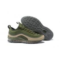 Nike Hombre Air Max 97 Ultra 17 Ejército Verde/Cargo/Caqui