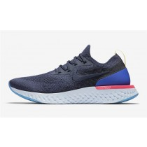 Nike Epic React Flyknit Hombre/Mujer Azul AQ0067-400