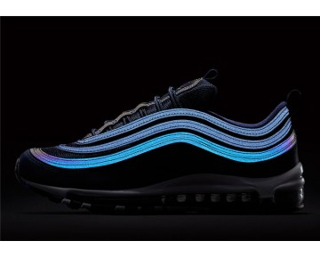 Nike Hombre Air Max 97 921826-402 Obsidiana/Blancas-Negras-Blancas