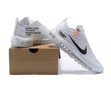 Nike The Ten Off-White Air Max 97 Virgil Abloh Blancas/Cone-Helado Azul AJ4585-100 - Hombre/Mujer