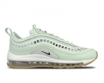 Mujer Nike Air Max 97 Ultra Zapatillas Apenas Verde/Negras-Gum Amarillo AO2326-300