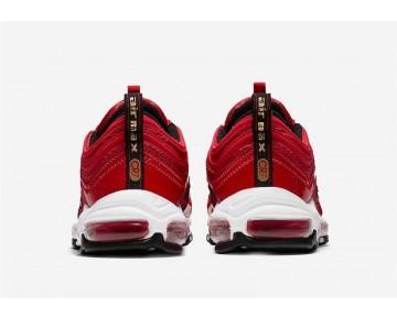 Nike Hombre Air Max 97 CR7 AQ0655-600 Rojo Universidad/Blancas-Oro Metálico