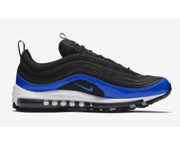 Hombre Nike Air Max 97 Zapatillas Negras/Nebulosa Azul-Gris Lobo-Blancas 921826-011