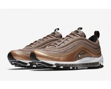 Nike Hombre Air Max 97 921826-200 Desert Dust/Blancas-Bronce Rojo Metálico-Negras