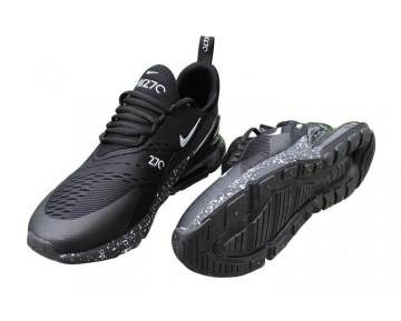 Air Max 270 Flyknit Zapatillas - Hombre/Mujer Negras/Blancas/Cielo Estrellado