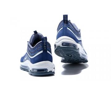 Nike Hombre Air Max 97 Ultra 17 Armada/Blancas/Carbón Claro 918356-402