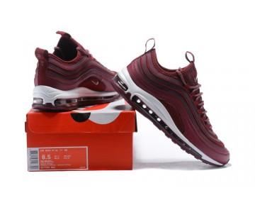 Nike Hombre Air Max 97 Ultra 17 Metallic Mahagony/Cumbre/Blanca 917704-903