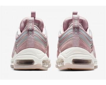 "AH6805-002 Hombre Nike Air Max 97 Ultra 17 ""Pink Blush"" Rosa/Rosa Claro/Plata/Blanco Crema"