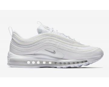 "Nike Hombre Air Max 97 ""Triple White"" Blancas/Gris Lobo-Negras 921826-101"