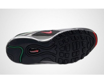 Nike Hombre/Mujer Air Max 97 Undefeated AJ1986-001 Negras/Rojo Velocidad/Garganta Verde