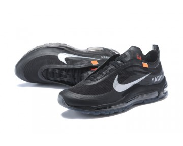 Nike The Ten Off-White Air Max 97 Negras/Cone-Helado Azul - Hombre/Mujer