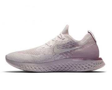 Nike Epic React Flyknit Hombre/Mujer Pearl Rosa/Barely Rose AQ0067-600