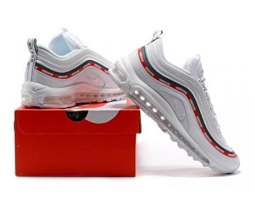 Nike Hombre/Mujer Air Max 97 Undefeated AJ1986-100 Vela/Rojo Velocidad-Blancas