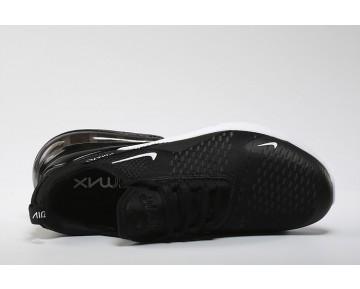 Air Max 270 Flyknit Zapatillas - Hombre/Mujer Negras/Blancas/Hot Punch