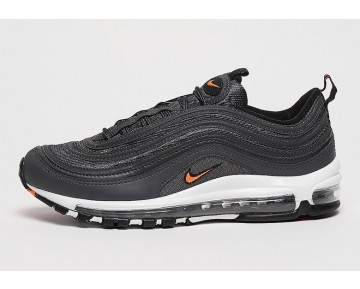 Nike Hombre/Mujer Air Max 97 OG Anthracite/Naranja Total-Negras-Blancas AQ7331-002