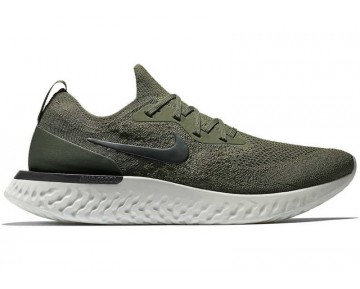 Nike Epic React Flyknit Mujer Cargo Caqui/Negras/Camper Verde AQ0067-300