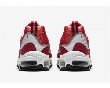 "Comprar Hombre 2018 Air Max 98 ""Gym Red"" AH6799-101 Blancas/Negras-Gimnasio Rojo-Reflejar Plata"