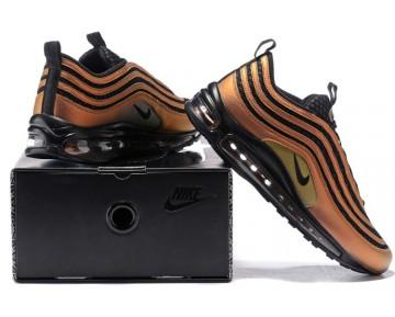 aj1988-900 Hombre/Mujer Skepta x Nike Air Max 97 UL 17 Multi-Color/Negras/Vivid Sulfur