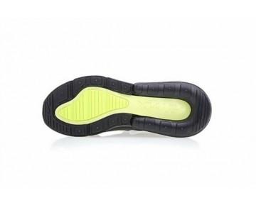 Air Max 270 Flyknit Zapatillas - Hombre Negras/Blancas/Verde Fluorescente